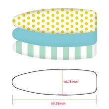 FREE SHIPPING !! Home Textile Printed Cotton Padded Ironing Board Cover JKP909