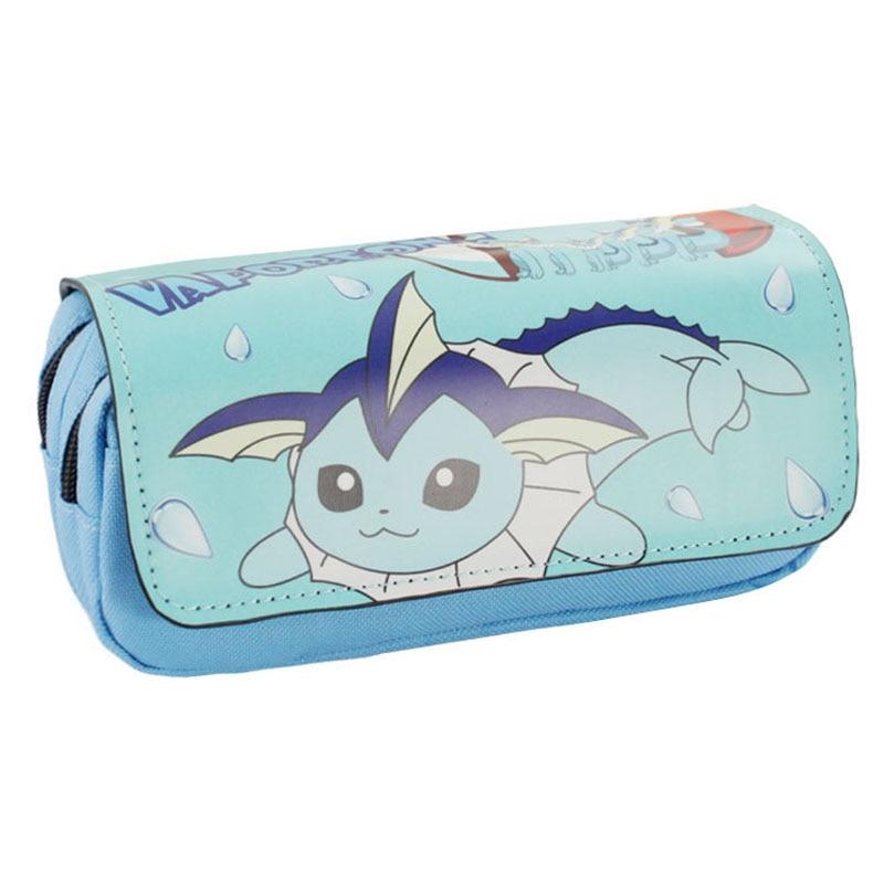 Pokemon Go Games Zipper Purse Pocket Monster Purse Men Women Leather Pen Pencil Organizer Cases Pouch Cosmetic Bag Makeup Bags