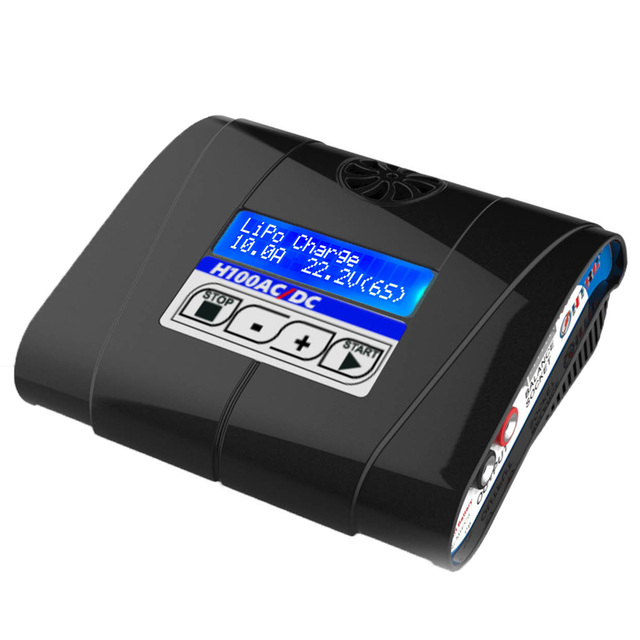 HTRC H100 AC/DC 100W 10A RC Balance Charger For Lipo/LiIon/Life/Ni-MH/Ni-CD Battery