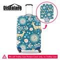 Dispalang animal engraçado bagagem trolley caso protetora capas para 18-30 polegada veados flor elastic poeira tampa da mala à prova d' água