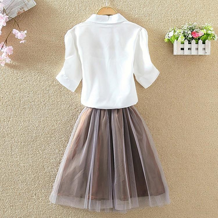 HTB1iGaZOVXXXXa8XpXXq6xXFXXXa - Women Summer Chiffon Blouse Plus Size Short Sleeve Casual Shirt