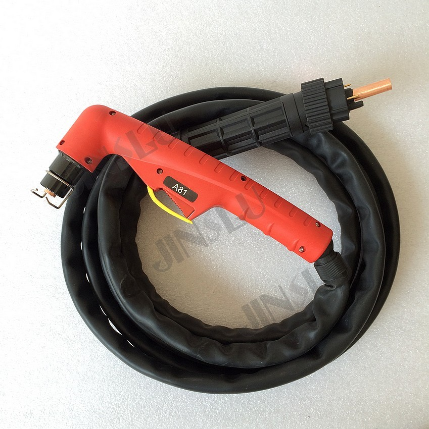 OEM Trafimet Style A81 5M 15 Feet Air cooled Central Adaptor Connector Plasma Torch for Cutter