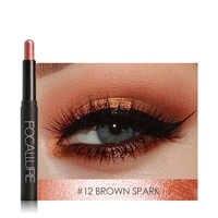 FOCALLURE Glitter Eyeshadow Pen Single Color Shadow Eye Liner Brighten Eye Makeup Cosmetic Natural Eye Shadow