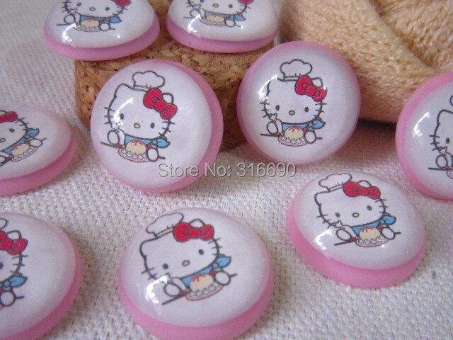 Hello Kitty Смолы Кабошон