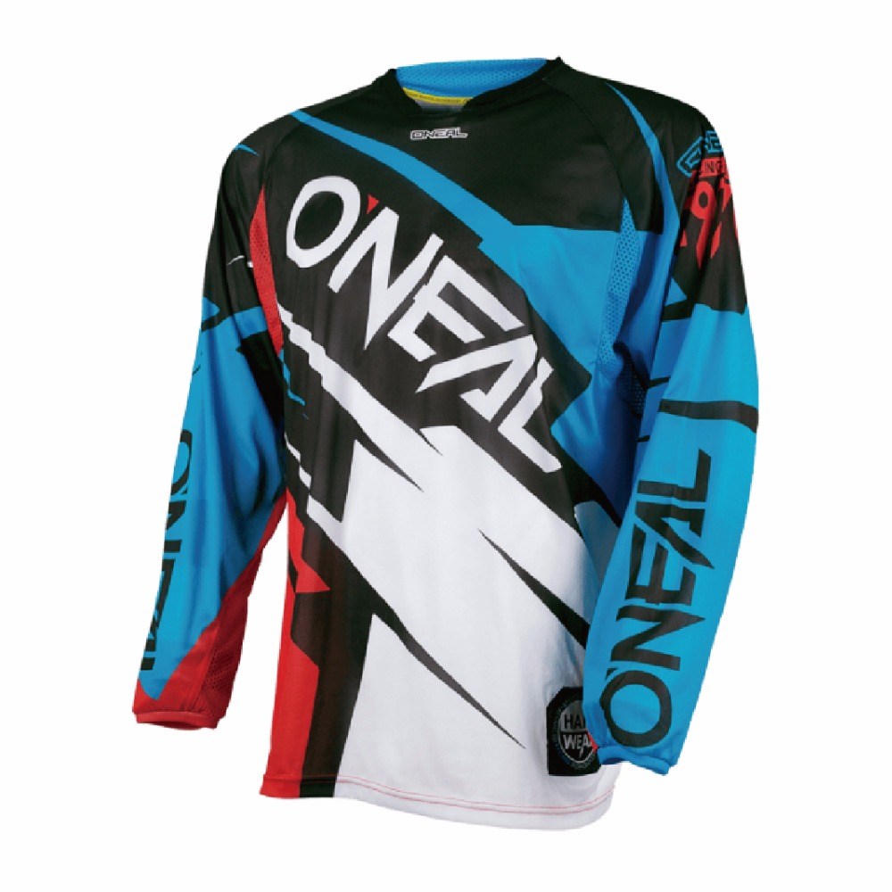 Polyester Men Motorcycle Motocross Racing DH Downhill MX MTB Free T shirt Jersey Jerseys Cycling Wear Clearance Sale
