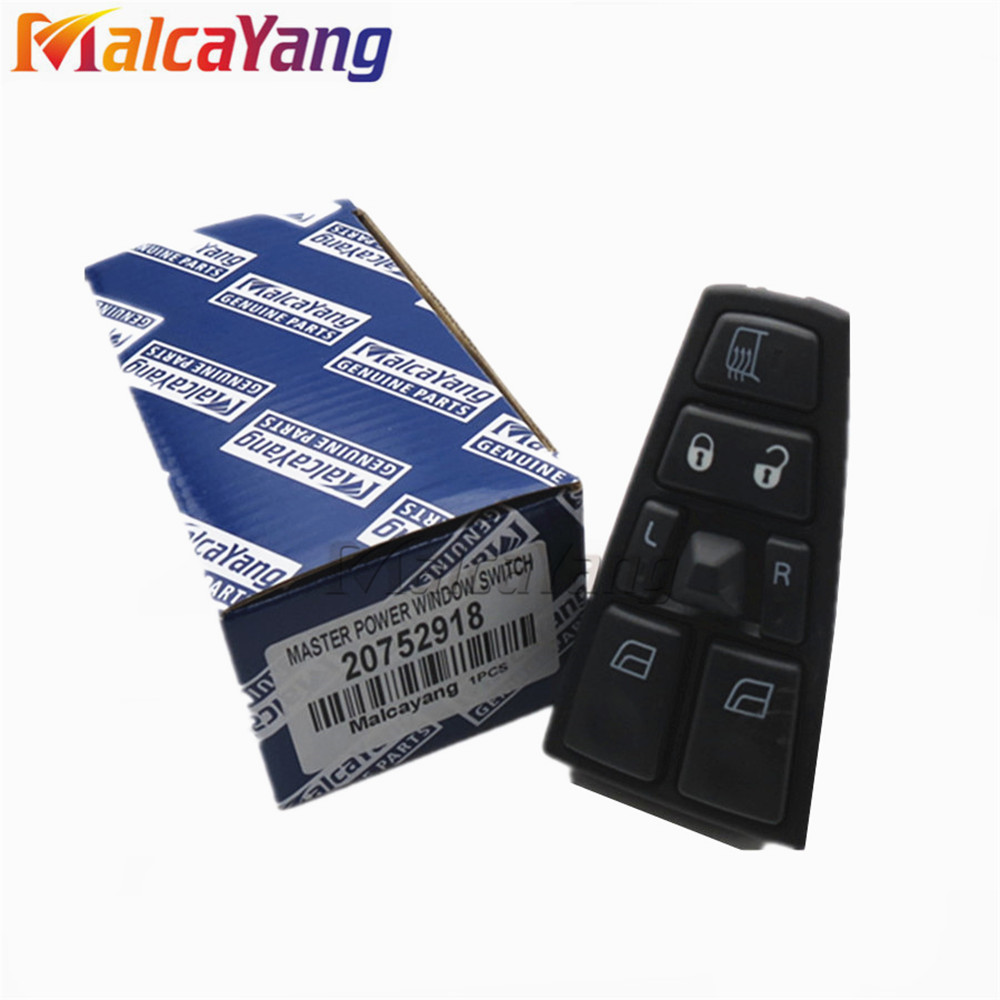 20752918 21543897 24V Electric Power Window Master Switch For Volvo Truck FH12 FM VNL 21277587 20568857 20452017