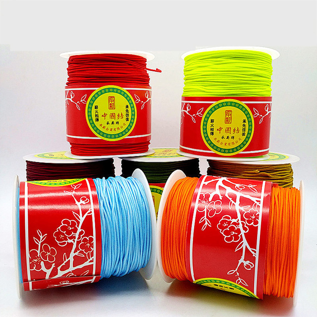 1mm Chinese Knot Beading Nylon Cord 328yd/spool NCNA
