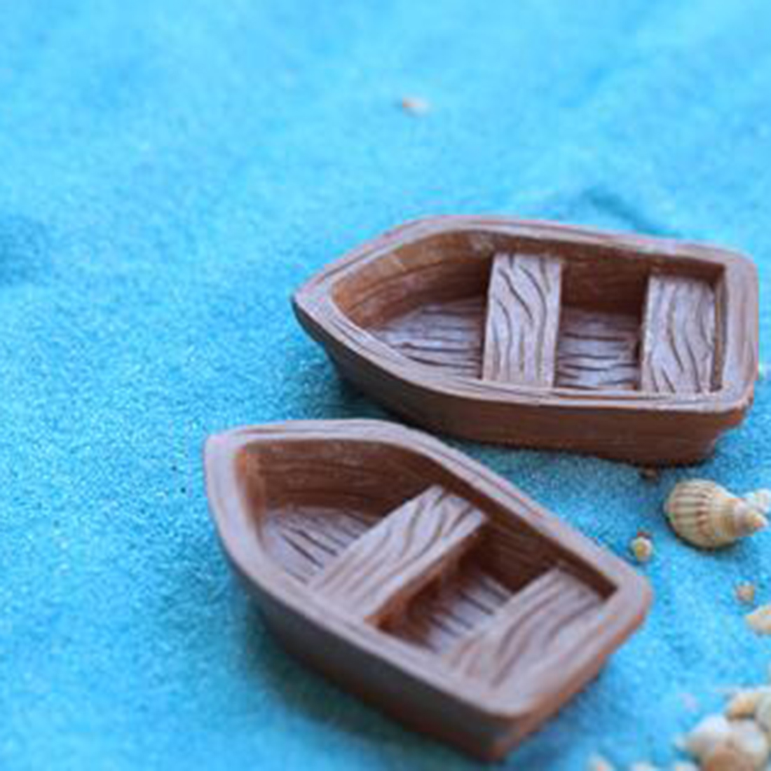 Detail Feedback Questions About Hot Selling Cute Resin Boat Craft