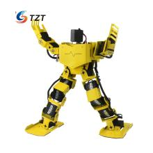 17DOF Biped Robotics Humanoid Walking Robot Two Leg Aluminum Frame Robo-Soul H3.0-Yellow