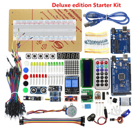 Deluxe Edition Starter Kit For Arduino UNO R3 And Mega2560 Board For LCD Servo Motor Relay