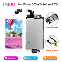 AAA Quality Full Set LCD Display For IPhone 5 5S 5C LCD Touch Screen Home Button