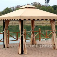 3*3 meter fashion garden gazebo patio sun shade pavilion outdoor coat tent canopy rain resistant