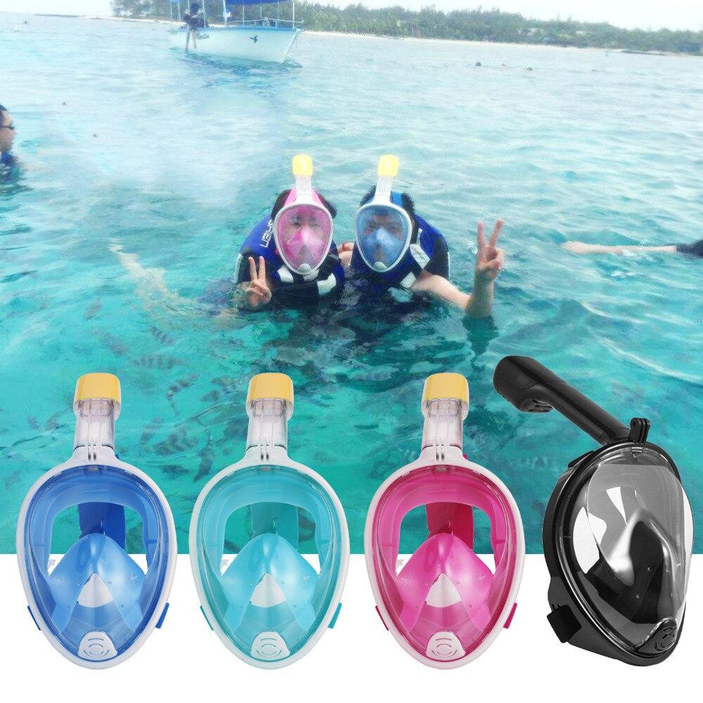 Masque de plongée sous-marine en silicone pour enfants