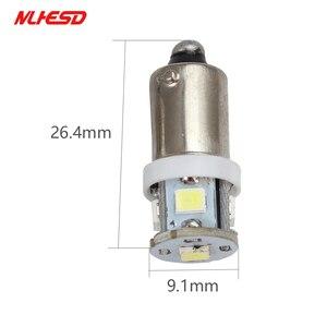 Image 4 - 100PCS ba9s t4w Bayone tw5w AC 6V/6.3V 8v 2835 5SMD LED Pinball Machine Light Bulb Lamp Non ghosting/anti flickering Eight color