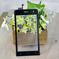 Черный цвет 5 шт. / lot сенсорный экран Archos 45 гелия 4 G планшета перед стекло замена сенсорный экран
