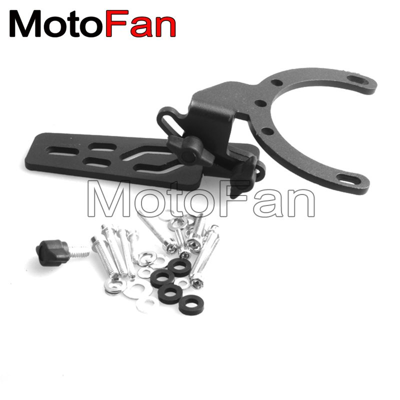 Adjustable Motorcycle Mobile Mount Camera, GPS, Mobile Phone, MP3 Player Tank Mount kit For Honda BMW All Years