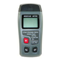 Mini 2Pins Digital LCD Display Wood Moisture Meter Humidity Tester Timber Damp Detector Hygrometer Range0 99