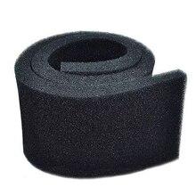 Aquarium Fish Tank Biochemical Filter Sponge Pad Light weight And Softness Design 50cmx50cmx2cm Black