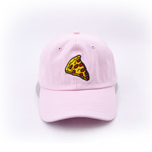 pizza embroidery Baseball Cap Trucker Hat For Women Men Unisex Adjustable Size dad cap hats недорого