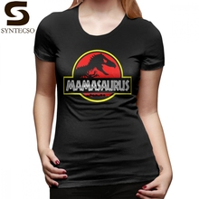 Mamasaurus T-Shirt Rex Mothers Day Gift Funny T Shirt Print O Neck Women tshirt Trendy Plus Size Ladies Tee
