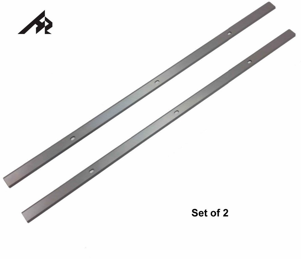 "HZ 2Pcs 13"" 332mm HSS Planer Blades Knife For Metabo DH 330, INTERSKOL PC-330/1500 2092933300150, DH316 0911063549"