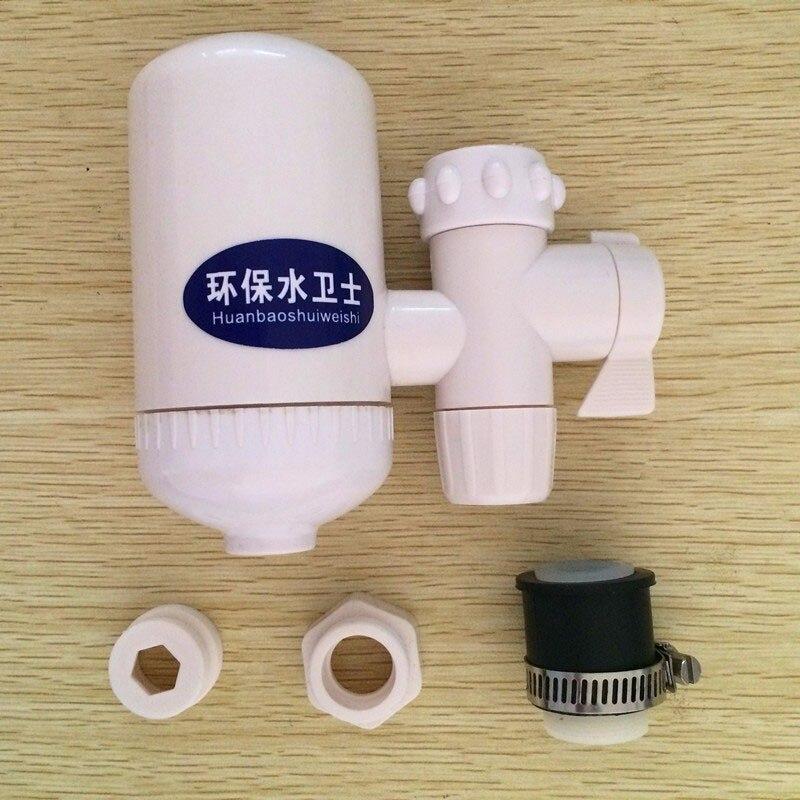 baru portabel keramik filter pemurni air kran alkaline ionizer menghapus 99