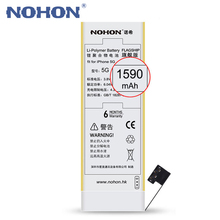 NOHON Battery 1590mAh Real Capacity For Apple iPhone 5 Repair Machine Tools Gift High Quality