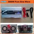 DC12V/24VTo AC110V/220 V Pure Inversor de Onda Senoidal USB Acessórios Do Carro Eletrônicos TBE Inversor Solar 3000 watt 3000 W de Potência Inveretr