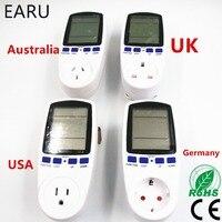 US USA UK EU Australia AU Germany Standard Smart Home Plug Socket Power Meter Energy Voltage