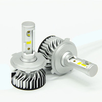 Бесплатная доставка 50 наборов DOB 45 Вт H4 светодиодный фар H7 H11 9006 9005 HB3 HB4 H1 H3 9004 9007 H13 Автомобильный светодиодный свет