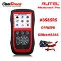 100% Первоначально Autel MaxiCheck Pro ABS/SRS/SAS/BMS/EPB/DPF Сброс Инструмент Диагностики Интерфейса электронный Стояночный Тормоз service tool