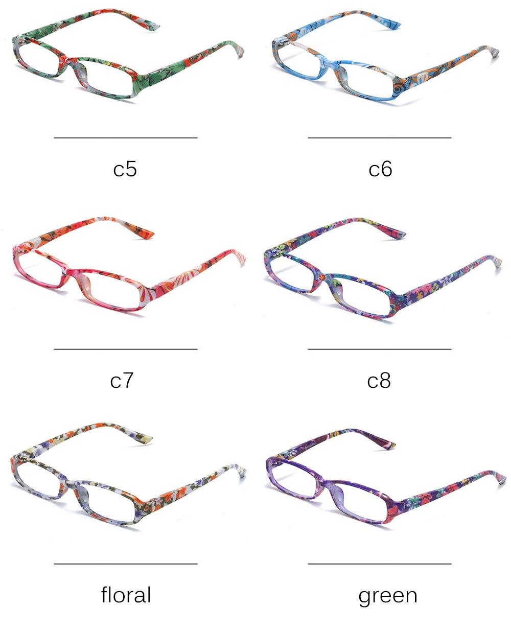 mulheres dos homens baratos óculos de leitura com caso + 1.0 a 4.0