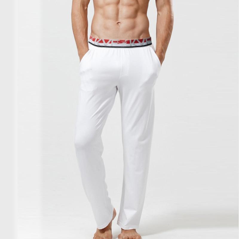 Men's Sleep Bottoms Modal Mens Underwear Pajamas Trousers Long John Modal Spandex Autumn Style Comfortable