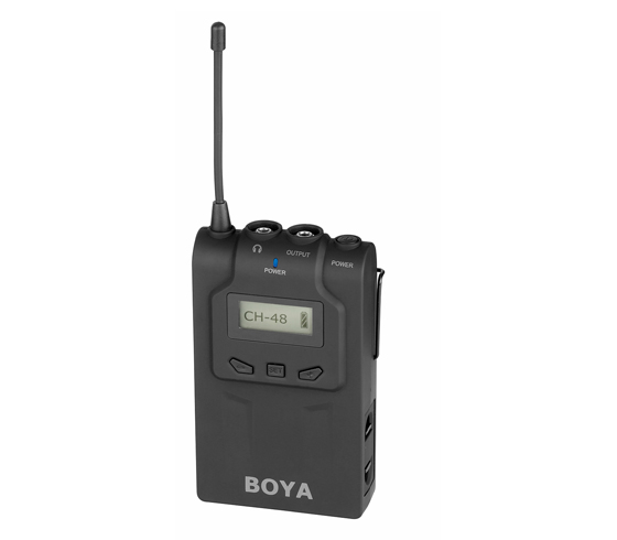 BY WM6R Wireless Bodypack Receiver for BY WM6 Lavalier Wireless Microphone System for ENG EFP DSLR
