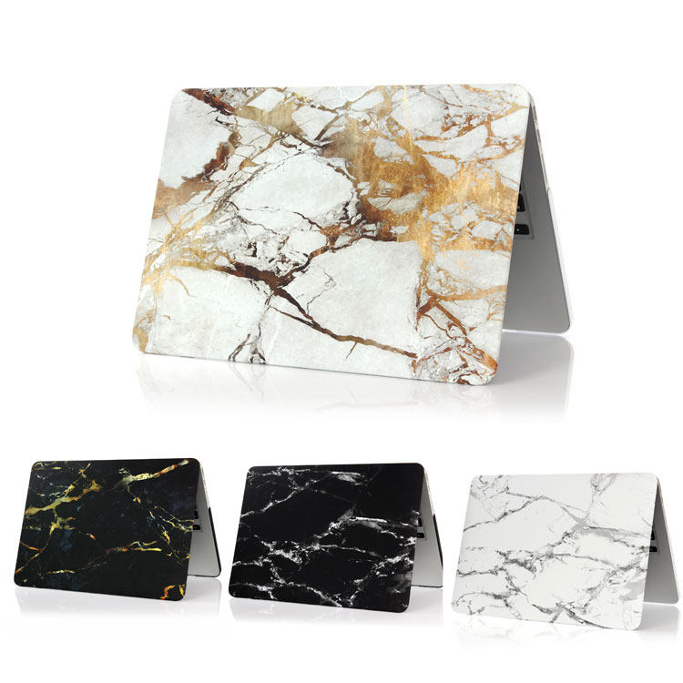 Marble Pattern Matte Hard Case Cover for MacBook Air 13 Air 11 Pro 13 15 Retina 12 Laptop Bag Cover Coque Marble laptop case