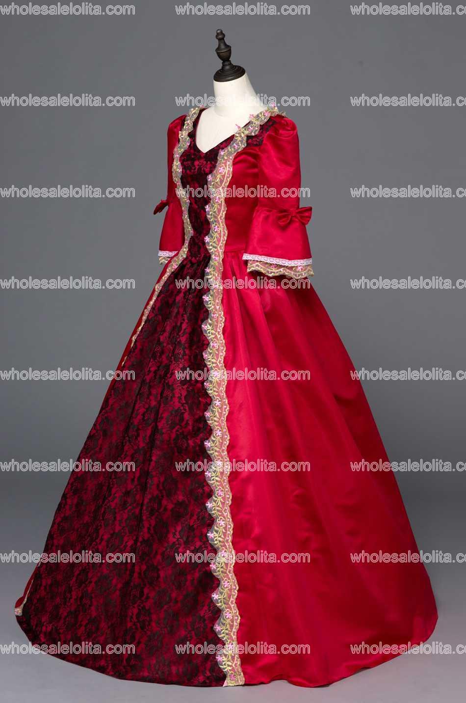 Südliches Schönheit ballkleid kleid Reenactment Kleidung ...