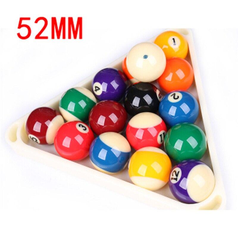 High Quality Pool Table Billiard Balls Set 52mm Snooker billiards Accessories desktop mini mini pool snooker table game set green size m
