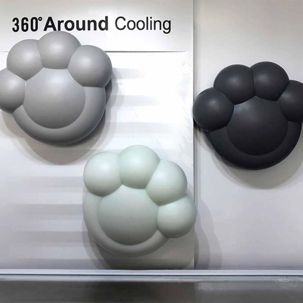 Succión de pared activada en forma de pata de carbono activado de carbono refrigerador Fresher de aire para estanque hogar Filtro de acuario esterilización