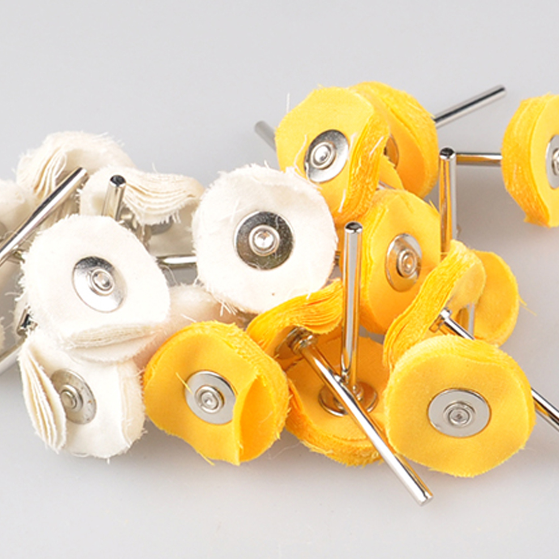 Polishing Wheel Buffing Pad Brush Set 10pcs/set White Cloth Wheel For  Dremel Accessories For Power Rotary Tools