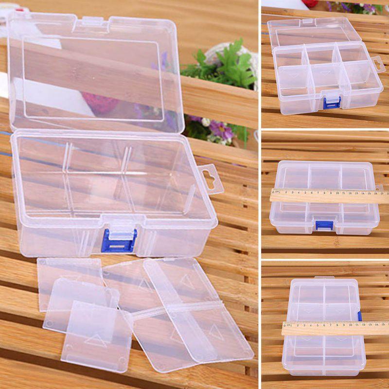 2018 New Adjustable Finishing Large Plastic Storage Box Compartment