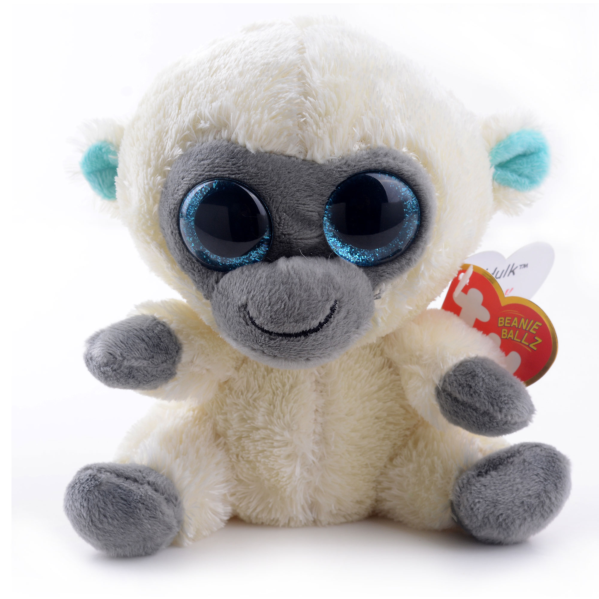 Cute 5   Original TY Collection MAGIC White Monkey Plush Toys Kids Small Stuffed  Animal Classic Doll Toy For Christmas Gift  LN 28c7e3ac71a