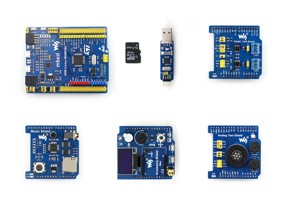 Modules STM32 XNUCLEO-F302R8 Package B Supports Leonardo Compatible with NUCLEO NUCLEO-F302R8 onboard Cortex-M4 modules music shield development board for leonardo nucleo xnucleo audio play record vs1053b onboard