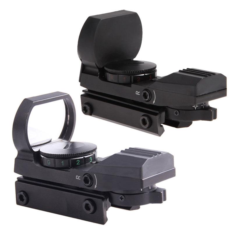 4da50dd0796 뜨거운 판매 홀로그램 레드/그린 Riflescope 도트 리플렉스 4 십자선 사냥 범위 w/마운트 (20 미리메터/11 미리메터)