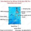 2016 НОВАЯ машина PCIE чипов тест жесткого диска стойки HDD ремонт инструмента джиг для iPhone 6 s 6 s plus SE Pro изменить SN с Программным Обеспечением