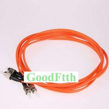 Fiber Optic Patch Cord Jumper ST-FC FC-ST Multimode 62.5/125 OM1 Duplex GoodFtth 20-100m fiber optic patch cord jumper st fc fc st multimode om3 duplex goodftth 1 15m