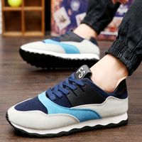 2017 New Men S Fashion Casual Shoes Students Fight Color Plate Shoes Wholesale Buy Best To