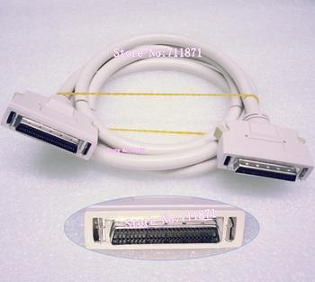 Alta Velocidad 1,5 M 50 P DB50 SCSI línea de datos de disco duro DB50 macho 50Pin SCSI Cable pequeño sistema de ordenador interfaz HDD Cable de datos