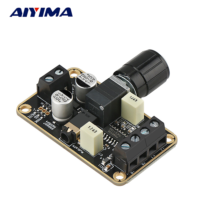 AIYIMA 2.0 CH PAM8406 Digital Amplifier Audio Board 2*5W Audio Stereo For DIY Speaker Amp Accessories DC 5V
