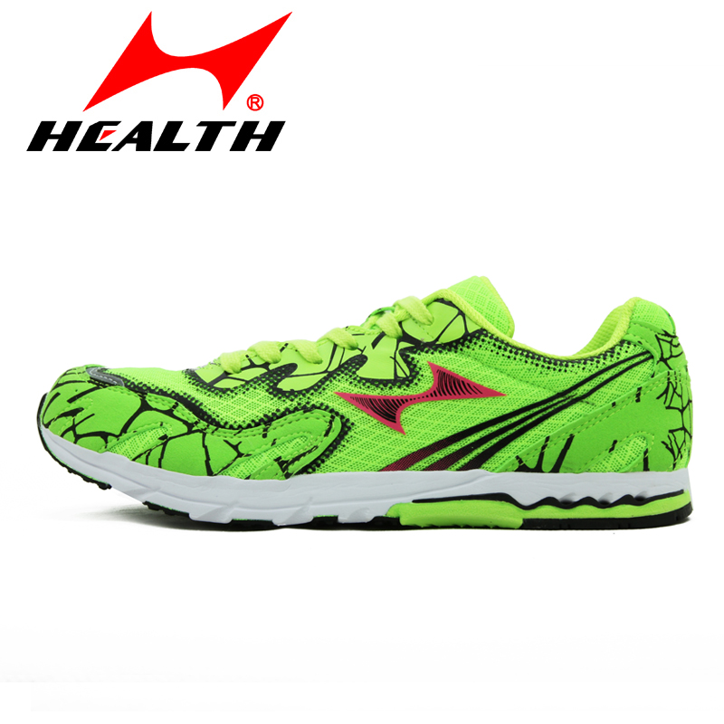 Health Breathable Running Shoes Men Women Light Weight Marathon Walking Jogging Shoe Shock Absorption Sneakers Slip-resistent point break children weight running shoes men breathable mesh jogging shoes tide travel shoes