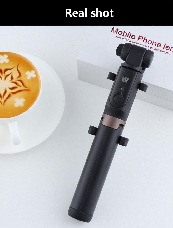 Vara com Tripé Handheld Telefone Clipe de